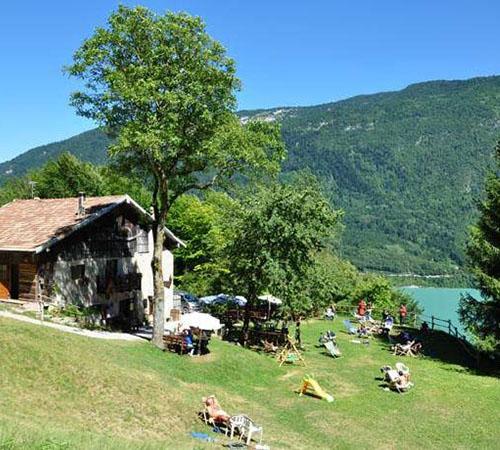 ristorante baita fortini molveno al lago