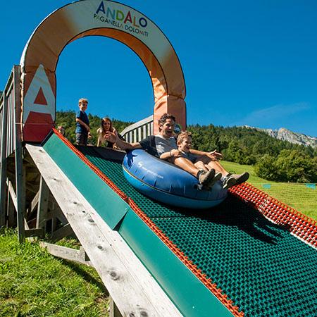 winterpark Andalo Dolomiti